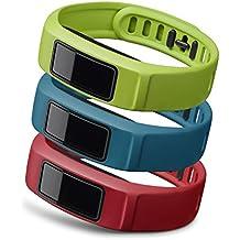 """Garmin Pack correas Vivofit 2"""" Active Grande (rojo/azúl/verde) Vivofit 2"""