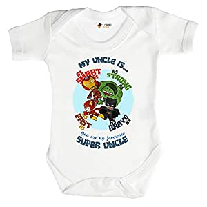 PERSONALISED CAPTAIN AMERICA Baby Romper SUPERHERO MARVEL Newborn GIFT Keepsake