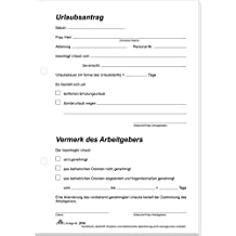 Neu Urlaubsantrag Excel Briefprobe Briefformat