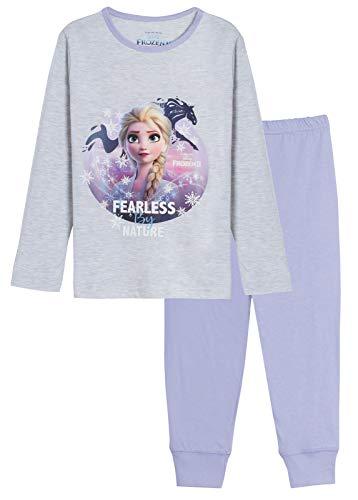 Disney Mädchen Schlafanzug/Pyjama/ELSA/Anna/Olaf, 2 Stück Gr. 9-10 Jahre, Furchtlos durch die Natur