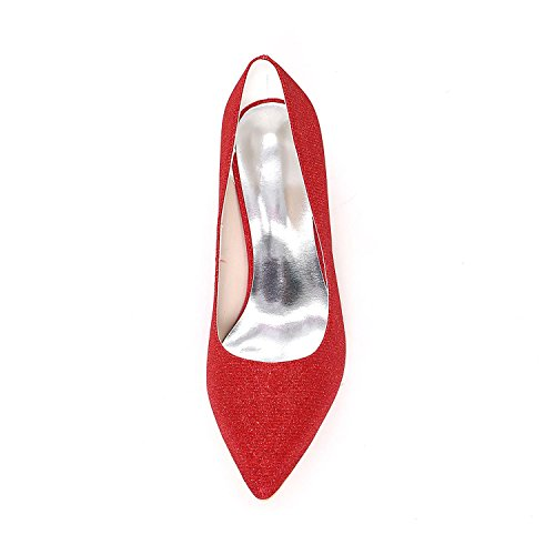 L@YC Chaussures de mariage de haute qualité pour femmes de mariée Wedge / Wedding Platform Les talons / plates-formes offrent plus de couleurs disponibles blue