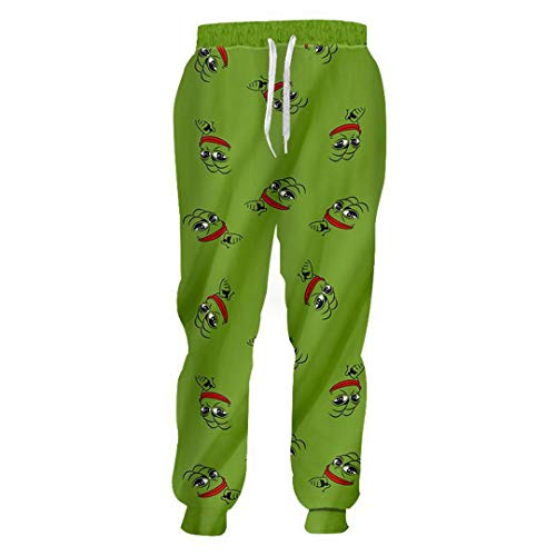 Neuheit Pepe Frog Unisex Hose Set Sweatshirt + Jogginghose Maßgeschneiderte Kleidung Pants L -