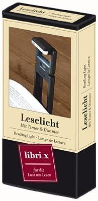 moses. Verlag Leselicht mit Timer und Dimmer 81342 von moses. Verlag GmbH - Lampenhans.de