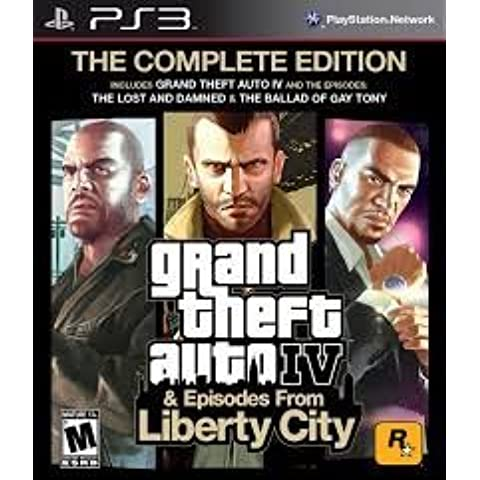 Grand Theft Auto IV 4 GTA Complete Edition Game PS3 (Greatest Hits) by Rockstar