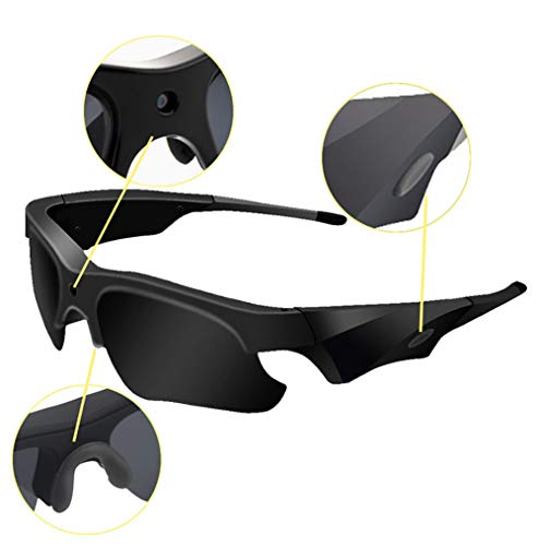HYFZY Videosport-Sonnenbrille (Full HD, 1080P)