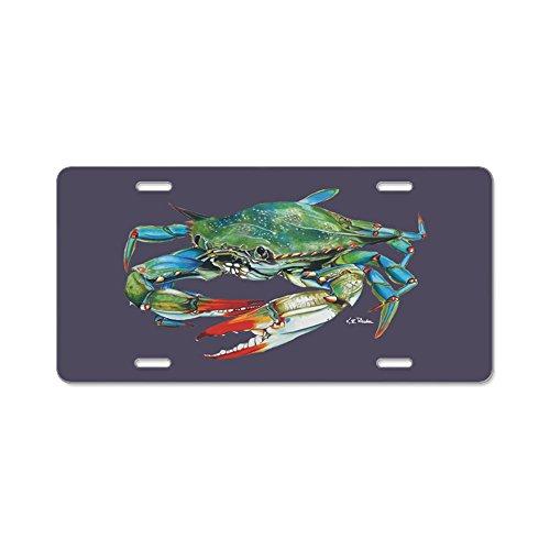 CafePress, blau Krabbe Aluminium–Aluminium Nummernschild, vorne Nummernschild, Vanity Tag