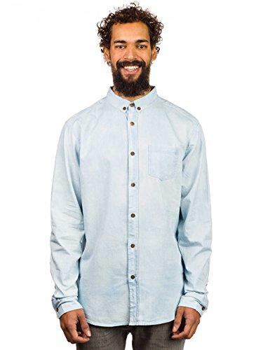 Herren Hemd lang Globe Lennox Hemd Faded Blue