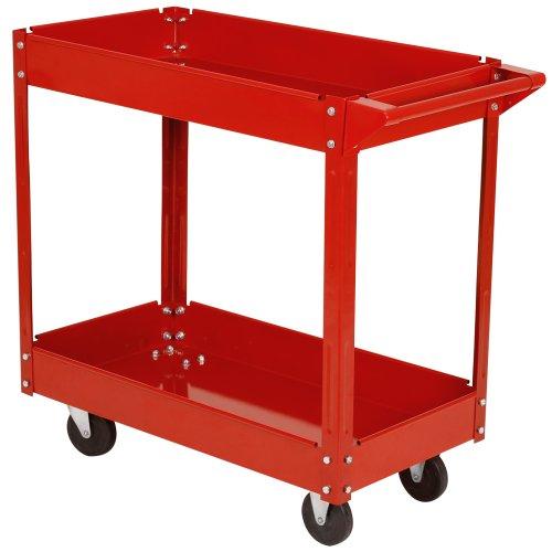 Werkzeugwagen / Rollwagen Werkstattwagen mit 2 Etagen - 2
