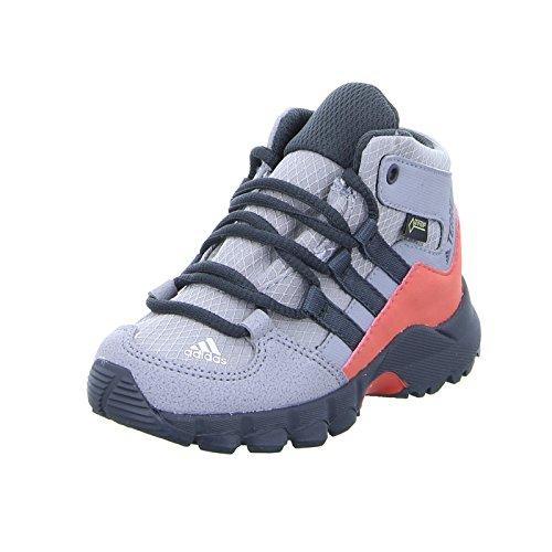 adidas Unisex-Kinder Terrex Mid GTX I Trekking-& Wanderstiefel, Grau (Gritre/Carbon/Esctra 000), 25 EU