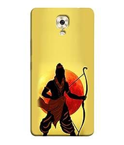 Fuson Designer Back Case Cover for Gionee M6 Plus (Clipart Artist Sun Hindu Ramji God Follower)