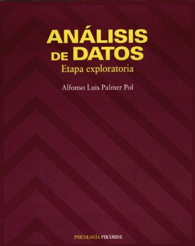 Análisis De Datos: Etapa Exploratoria