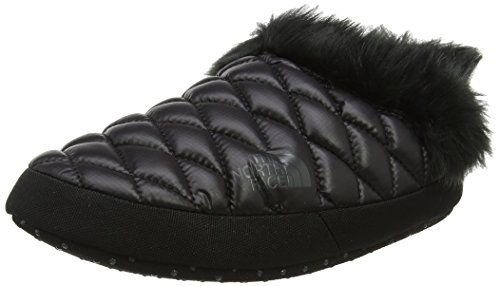 The North Face TB Tntmul Ffur IV, Sabots Femme, Multicolore (Shiny TNF Black/Beluga Grey), 39-41 EU (Taille Fabricant: S) (Casual Womens Black Mules)