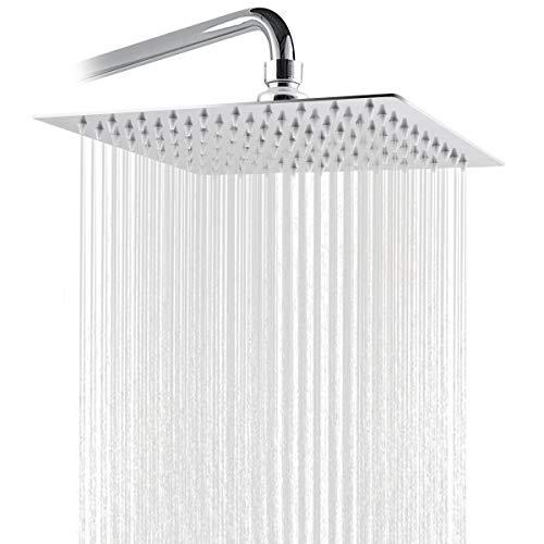 Baban Soffione doccia/Soffione cromato Acciaio inossidabile in acciaio...