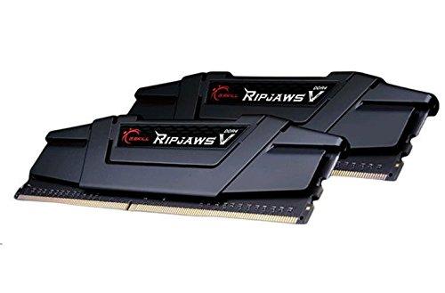 G.Skill Ripjaws F4-3200C16D-8GVK Arbeitsspeicher 8GB PC 3200 (CL16 2X 4GB) DDR4-RAM Kit