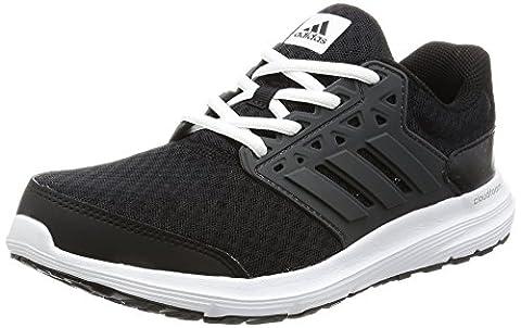 Adidas Galaxy 3 W, chaussures de tennis femme - Noir (Core Black/dark Grey/ftw White), 38 EU