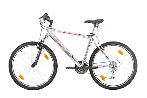 "411AzxQA2VL - CoollooK OPTIMUM Bicycle 26"" MAN, mountain bike, ALLOY wheels 18 speed Shimano WHITE GLOSS"