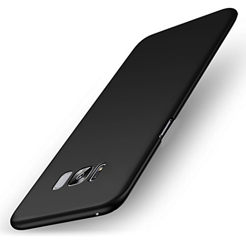 ELV Galaxy S8 thin fit protective hard back Case cover for Samsung Galaxy S8 – Black