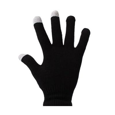 DURAGADGET Guantes Negros Para Pantalla Táctil Para Lenovo IdeaPad Miix 700 | Phab / Phab Plus - Talla Mediana (M) - ¡Ideales Para El Invierno!