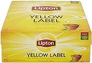 Lipton Té negro Yellow Label, Caja con 100 sobres