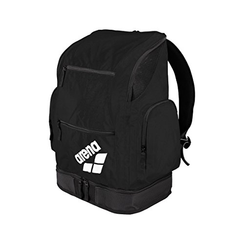 arena Spiky 2 Mochila, Unisex Adulto, Negro (Black / Team), L