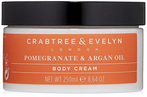 Crabtree & Evelyn Pomegranate and Argan Oil Body Cream Körpercreme 250ml -
