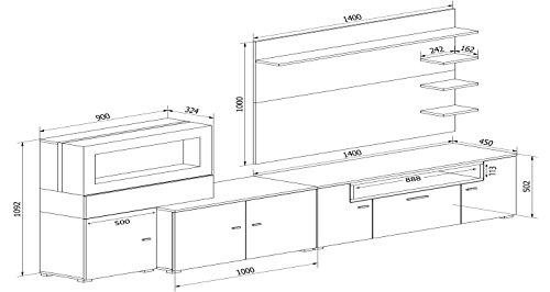 Wohnwand – Home innovation- Wohnmöbel Bild 2*