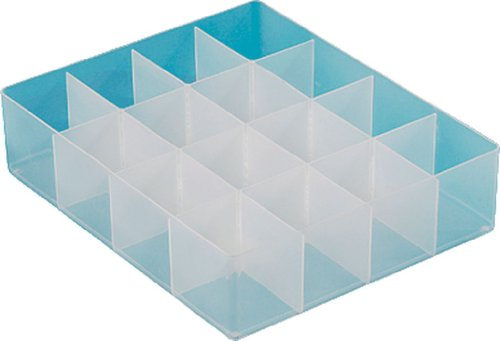Really Useful Box Einsatz 16/LGTRAY16 B370xH90xT300 mm transparent Inh.16 Fächer (16 Really Useful Box)