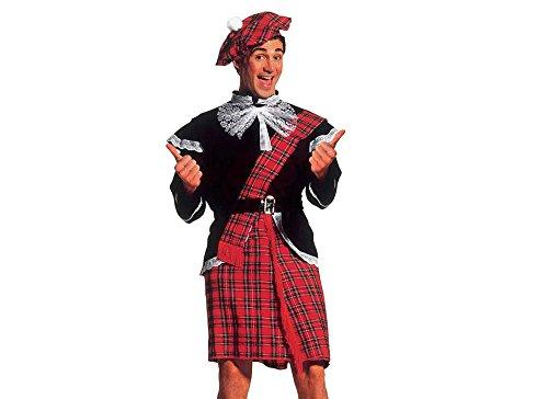 Imagen de widman  disfraz de escoces para hombre, talla xl 3240s