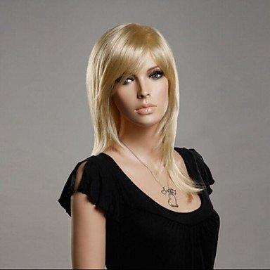 HJL-l'Europe et les ¨¦tats-Unis vendent comme des petits pains ms or longue perruque de cheveux , blonde