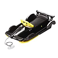 AlpenGaudi Snow Racer Black Sledge- Pack Of 3