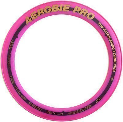 Aerobie Pro / Ring, Wurfring / präziser Flug / Magenta