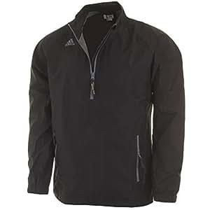 2015 Adidas Climaproof GORE-TEX Paclite 1/2 Zip Mens Waterproof Golf Jacket Black Medium