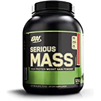 OPTIMUM NUTRITION Serious Mass Protéine Fraise 2.73 kg