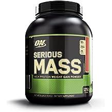 OPTIMUM NUTRITION Serious Mass Protéine Fraise 2.73 kg