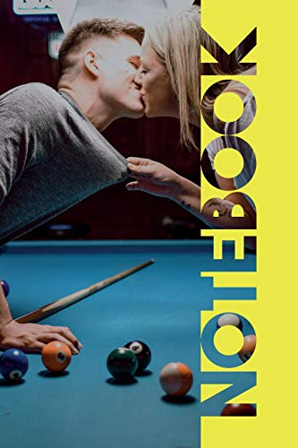 Notebook: Pool Table Petite Composition Book for Billiard Balls Fans - Hall Cricket