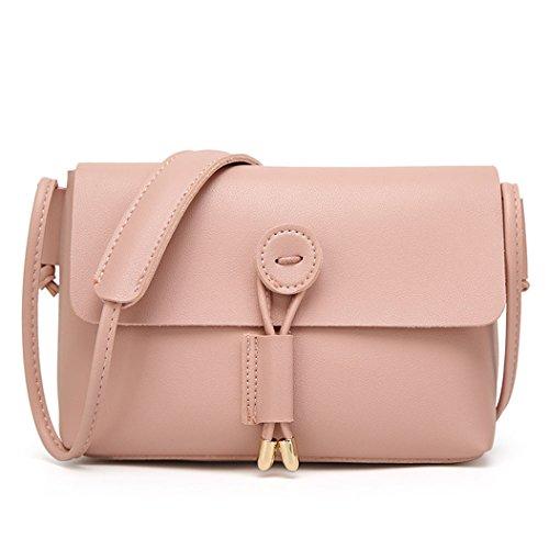 Fami Le donne della spalla di modo di cuoio del messaggero del Tote di Crossbody Satchel Handbag PK