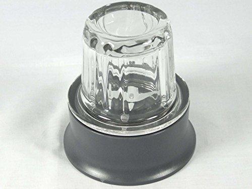 Kenwood - Picadora de repuesto para robots de cocina MultiPro Compact FPM250, FPM265,FPM260 y FPM270, gris
