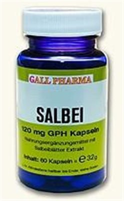 Gall Pharma Salbei 120 mg GPH Kapseln, 90 Kapseln