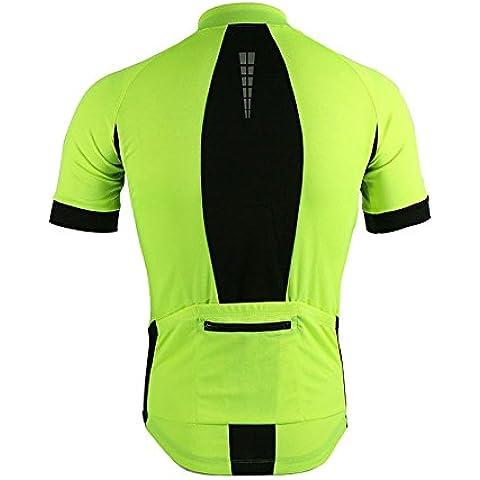 ARSUXEO deportes al aire libre Jersey primavera verano bici bicicleta corta manga MTB ropa ciclismo