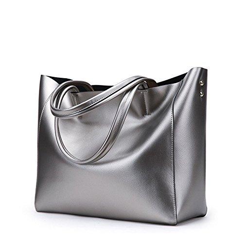 HONGGU PRINCESS ,  Damen Tasche Silberfarben