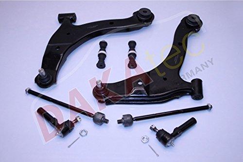 DAKAtec 110040 Reparatursatz Querlenker Vorderachse Vorne (Pt Cruiser Schlüssel)