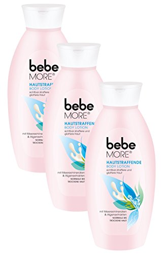 Bebe More Hautstraffende Body Lotion, 3er Pack (3 x 400 ml)