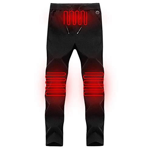 Sroomcla Pantalones calefactables eléctricos, térmicos, Ajustables, con calefacción, para Hombres y Mujeres,...