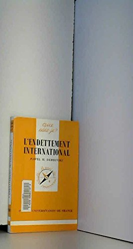 L'endettement international