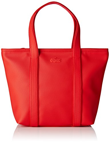 Lacoste NF2042WM, Sac Bandouliere Femmes, 32 x 12 x 22 cm HIGH RISK RED