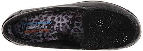Skechers carriera favolosa Advise piatto Black