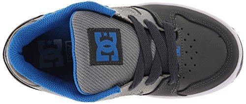 DC Shoes Sceptor, Chaussures de sports extérieurs garçon Gris (Grey/Grey/Grey)