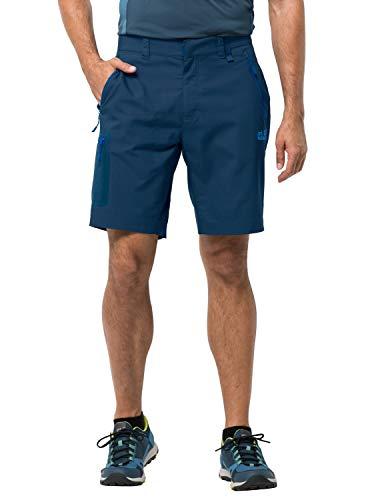 Jack Wolfskin Herren Active Track Shorts Men Poseidon Blue, 50 -