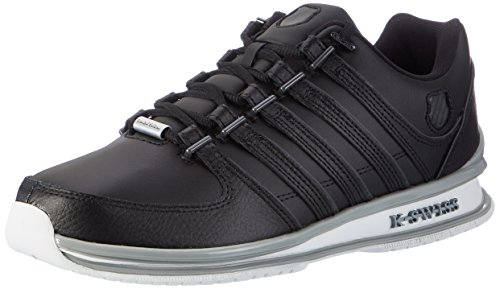 K-Swiss Herren Rinzler SP Sneakers, Weiß(Black/Dark Shadow/Quarry), 41.5 EU
