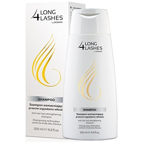 Hair Strengthening Shampoo (Long 4 Lashes Anti-hair Loss Strengthening Shampoo 200ml by Oceanic S.A.)